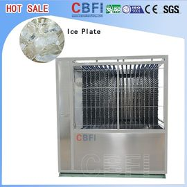 الصين 5000kg Capacity Plate Ice Machine , Automatic Ice Machine High Production مصنع