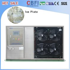 الصين Fast Food Shops Plate Ice Making Machine , Household Ice Machine Easy Operation مصنع