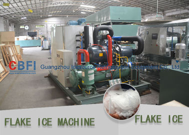 الصين Heavy Duty Flake Ice Machine For Fishery 500kg to 30 ton / 24hrs مصنع