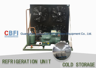 R134a Refrigerant Air & Water Cooling Unit / Cold Storage Room Energy Saving