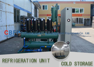 الصين Ice Cooling Freezer Cold Room America Copeland Compressor Condensing Unit 100MM Panel مصنع