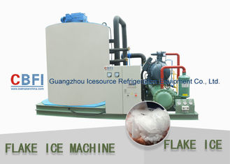 الصين Customized 10 Tons Flake Ice Machine CBFI Compressor R22 Refrigerant مصنع
