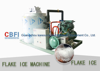 الصين Touch Screen Flake Ice Maker with German Bitzer Compressor / Water Cooling Condenser مصنع