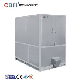 الصين 1000kg Air Cooled Ice Cube Machine With Germany Bitzer / R22 Refrigerant مصنع
