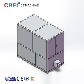 الصين 1 Ton Industrial Automatic Edible Large Ice Cube Maker With CE Certificate مصنع