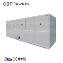 الصين Automatic 10 Tons Cube Ice Maker 304 Stainless Steel For Completed Frame مصنع