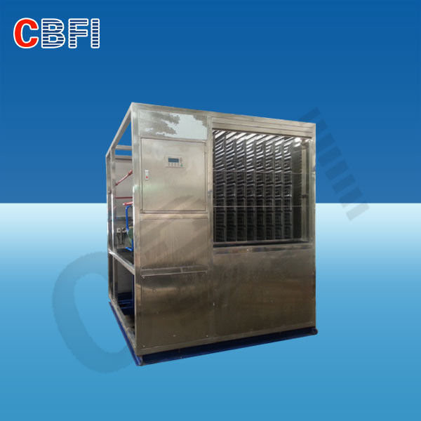 R404a Refrigerant Lower Temperature Chiller / Water Cooled Chiller For Freezing Water المزود