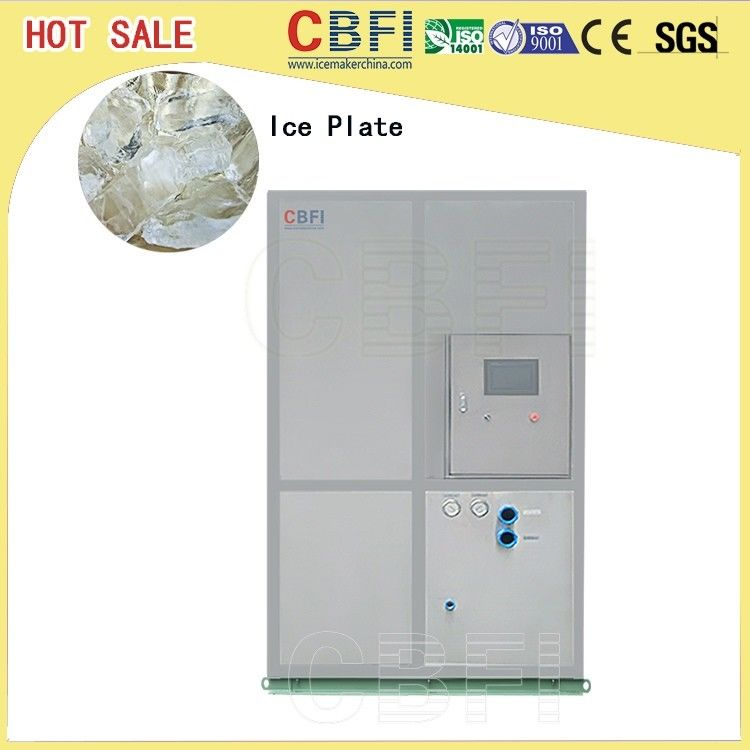 Full Automatic Control Plate Ice Machine 20 Tons Large Production المزود
