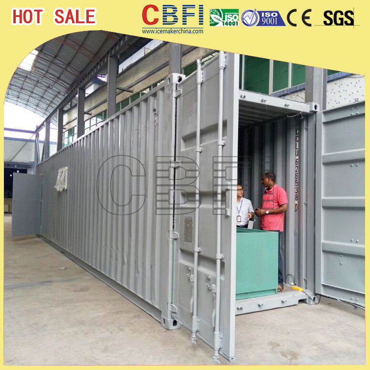 5 Ton Per Day Containerized Block Ice Machine, Ice Block Making Business  المزود