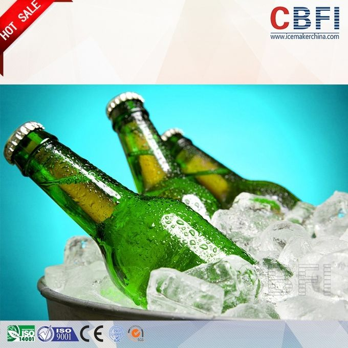 CE Approved R22 Refrigerant Ice Tube Machine for Beverage Easy Installation